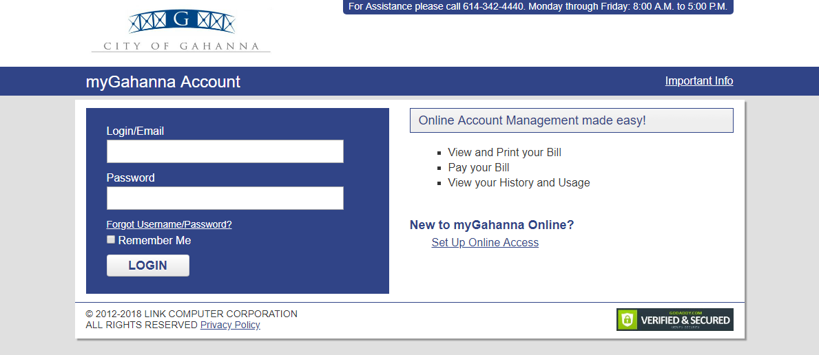 Online Utility Bill Pay Option Now Available