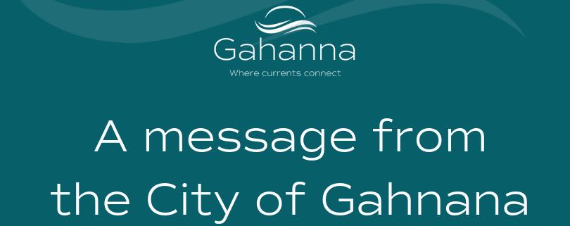 City Response To Gahanna Jefferson Public School Notification On